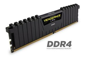 16GB (2x8GB) Kit DDR4/2400 DIMM CORSAIR Vengeance LPX CL14 (14-16-16-31), low profil chladič, XMP