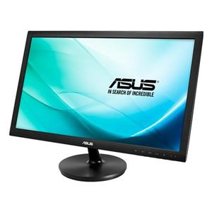 "24"" ASUS LCD LED VS247NR, Wide, 1920x1080, VGA,DVI, 5ms, 250cd/m2, 50mil.:1, černá"