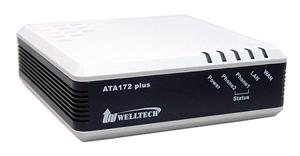 WELL ATA172 plus VoIP Gateway, 2x FXS port
