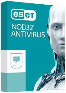 ESET NOD32 Antivirus, 4 stanice, 1 rok, Update