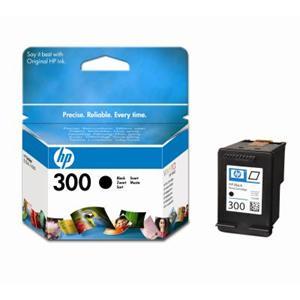 HP inkoustová cartridge černá CC640EE, č. 300