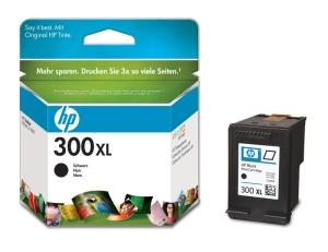 HP inkoustová cartridge černá CC641EE, č. 300XL