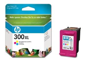 HP inkoustová cartridge barevná CC644EE, č. 300XL