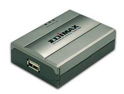 Edimax 1 portový Print Server, USB 2.0 tiskový port