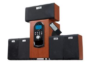 Genius repro SW-HF 5.1 6000, dřevěné+DO