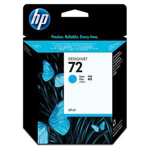 HP inkoustová cartridge Cyan C9398A, č. 72