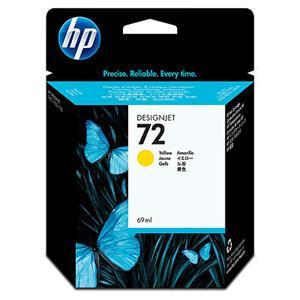 HP inkoustová cartridge Yellow C9400A, č. 72