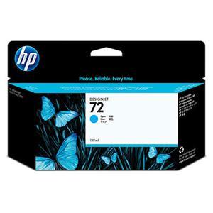 HP inkoustová cartridge Cyan C9371A, č. 72