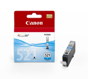 Canon inkoustová cartridge Cyan CLI-521C pro iP3600/iP4600/MP540/MP620/MP630/MP980