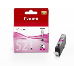 Canon inkoustová cartridge Magenta CLI-521M pro iP3600/iP4600/MP540/MP620/MP630/MP980