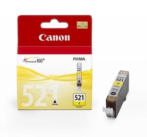 Canon inkoustová cartridge Yellow CLI-521Y pro iP3600/iP4600/MP540/MP620/MP630/MP980