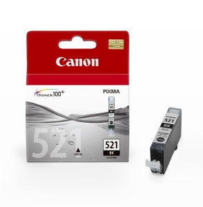 Canon inkoustová cartridge Black CLI-521Bk pro iP3600/iP4600/MP540/MP620/MP630/MP980