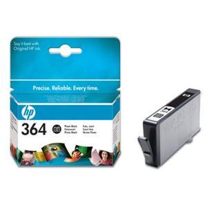 HP inkoustová cartridge Photo Black CB317EE, č. 364