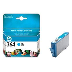 HP inkoustová cartridge Cyan CB318EE, č. 364