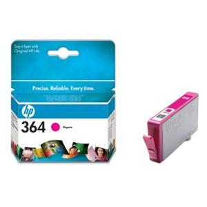 HP inkoustová cartridge Magenta CB319EE, č. 364