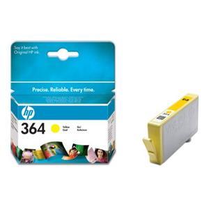 HP inkoustová cartridge Yellow CB320EE, č. 364