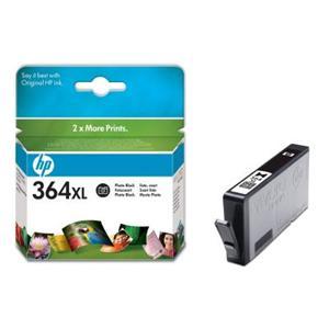 HP inkoustová cartridge Photo Black CB322EE, č. 364XL