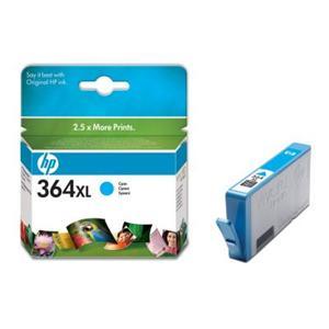 HP inkoustová cartridge Cyan CB323EE, č. 364XL