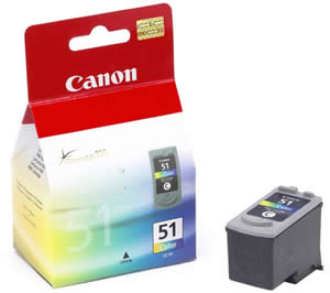 Canon inkoustová cartridge Color CL-511