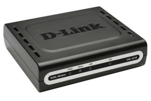 D-LINK DSL-321B ADSL2+ modem, LAN