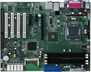 Commell P4LA,I945G/S775,VGA,Gbe,PCI-E,4xPCI,1xISA,DDR2/667,ATX