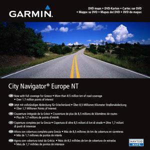 Uliční mapa, Evropa, CityNavigator® NT Europe na DVD