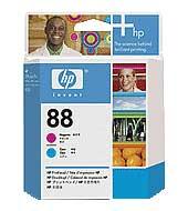 HP tisková hlava Magenta + Cyan C9382A, č. 88