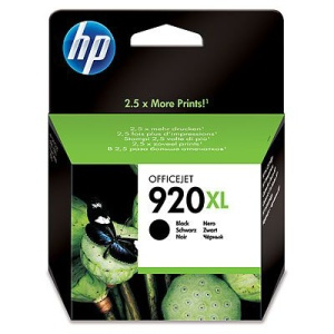 HP inkoustová cartridge Black CD975AE, HP 920XL Officejet