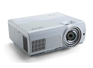 ACER Projektor S1383WHne - Short throw - DLP 3D - XGA 1280x800 - 3200LUMENS - 13000:1 - 2x VGA in - VGA out - HDMI(MHL)