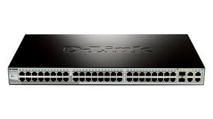 D-LINK DES-1210-52, Smart Switch 48-port UTP (48x10/100),2 x Combo 1000BaseT/SFP, 2 x Gigabit