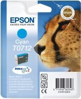 Epson inkoustová cartridge azurová T0712 DURABriteUltra Ink, 5,5 ml