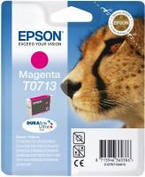Epson inkoustová cartridge purpurová T0713 DURABriteUltra Ink, 5,5 ml