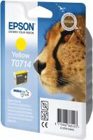 Epson inkoustová cartridge žlutá T0714 DURABriteUltra Ink, 5,5 ml