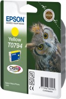 Epson inkoustová cartridge žlutá T0794 Claria Photographic Ink, 11 ml