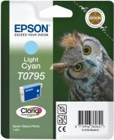 Epson inkoustová cartridge světle azurová T0795 Claria Photographic Ink, 11 ml