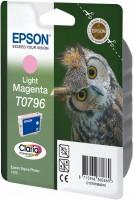 Epson inkoustová cartridge světle purpurová T0796 Claria Photographic Ink, 11 ml