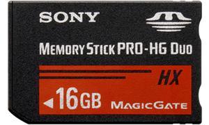 16GB Sony PRO-HX Duo, 50MB/s