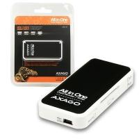 AXAGO CRE-X1 externí mini čtečka 5-slot ALL-IN-ONE