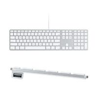Apple Wired Keyboard CZ s numerickou klávesnicí