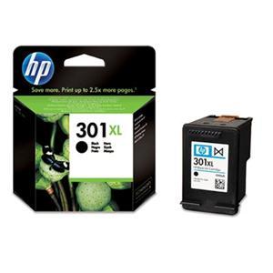 HP inkoustová cartridge černá CH563EE, č. 301XL