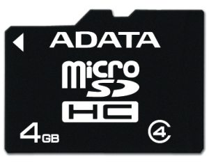 4GB Micro Secure Digital Card HC Class 4