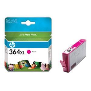 HP inkoustová cartridge Magenta CB324EE, č. 364XL, blistr