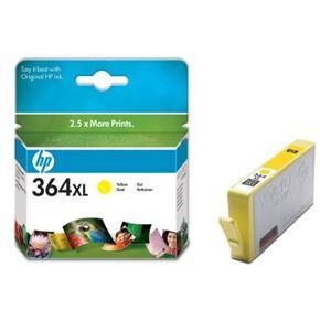 HP inkoustová cartridge Yellow CB325EE, č. 364XL, blistr