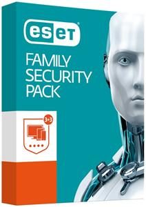 ESET Family Security Pack, 3 stanice, 1 rok, Update