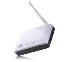 Edimax WiFi 802.11b/g/n 150Mbps Router/AP Client, 1xWAN,4xLAN 10/100, WISP, WPS, odnímat. anténa, green tech.