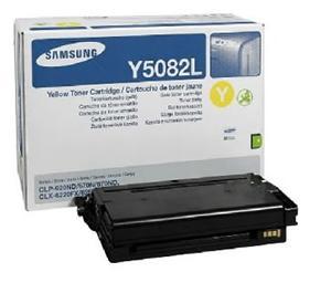 Samsung toner žlutý CLT-Y5082L pro CLP-620/670/CLX-6220 - 4 000 str.