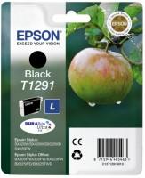 Epson inkoustová cartridge Black T1291 pro Stylus SX420W/425W/525WD/ 620FW, BX305F/305FW/320FW/525WD/625FWD