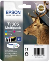 Epson inkoustová cartridge multipack T1295 (4 barev) pro Stylus SX420W/425W/525WD/625FW,BX305F/305FW/320FW/525WD/625FWD