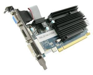 Sapphire Radeon HD 6450, 1GB DDR3, 128-bit, Pasiv , DVI-D / HDMI / VGA, PCI-E