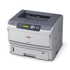 OKI B840dn A3, LED, 40 ppm, 128MB, SDHC, PCL/PS3, USB, LPT, LAN, Duplex